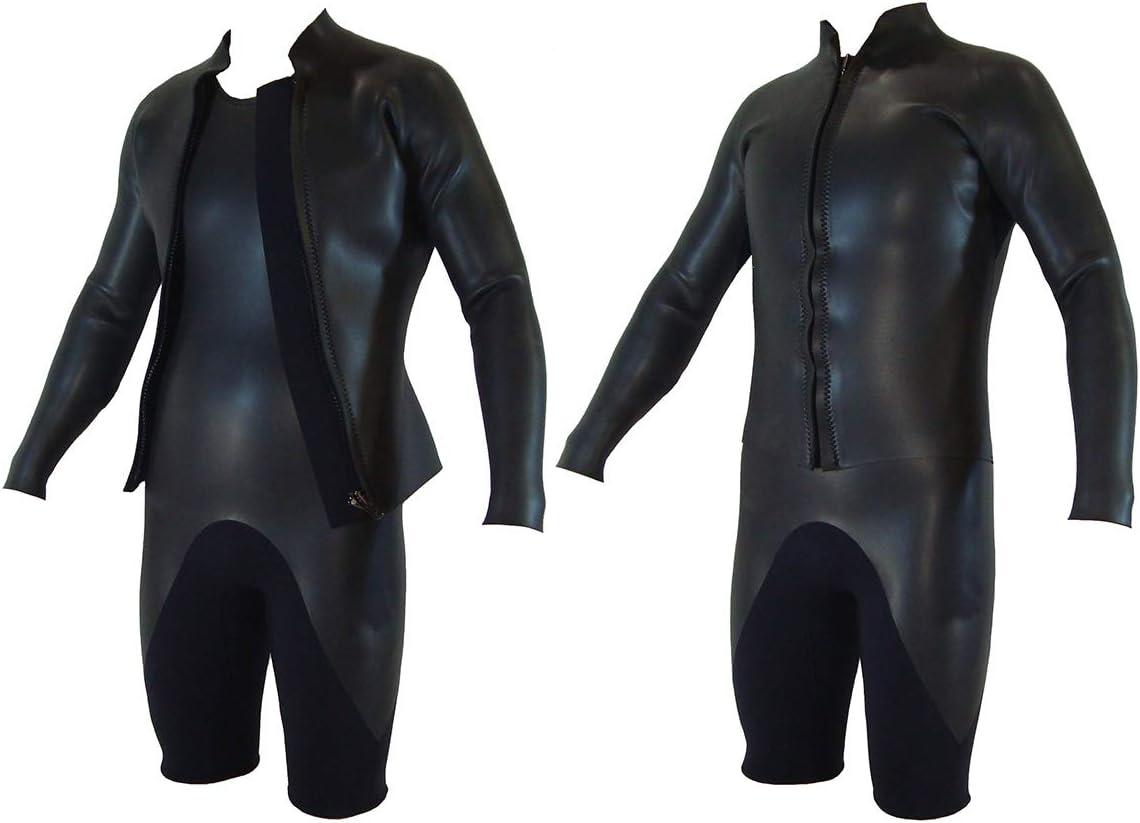 【日本製】CLASSIC 2mmショートジョン+2mm長袖ジャケットセット メンズサイズ ウェットスーツ クラシック  メンズMLO