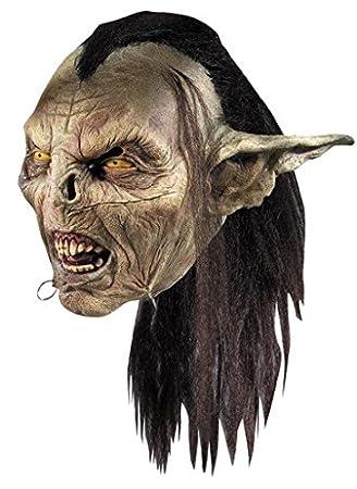 Rubies Gruselige Ork Maske Herr Der Ringe Lizenzartikel Bunt