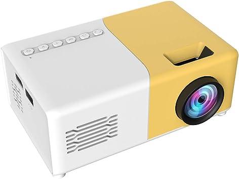 Opinión sobre Vbestlife LED Mini 1080P Proyector de Video Regalo para niños Proyector de Bolsillo Proyector portátil HDMI USB AV Proyector de Cine en casa Cine Proyector de películas para Fiestas Camping(Amarillo)