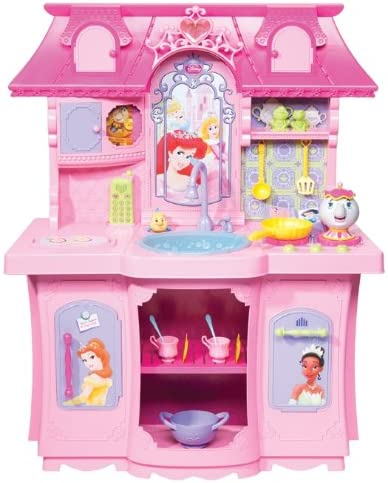 Amazon Com Disney Princess Ultimate Fairytale Kitchen Toys Games