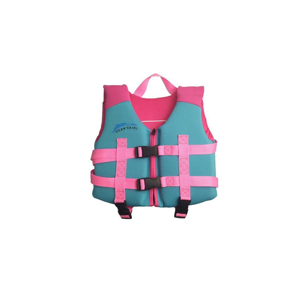 hony Kids Flotation Life Jacket Swimsuit Buoyancy Swimwear Beach Suit Swim Vest by hony