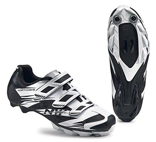 Northwave Scorpius 2 MTB Fahrrad Schuhe weiß/schwarz 2016: Größe: 39.5