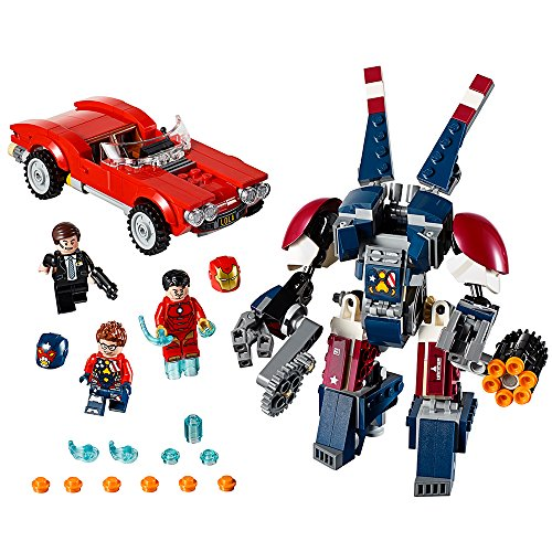 LEGO Super Heroes Iron Man: Detroit Steel Strikes 76077 Buil