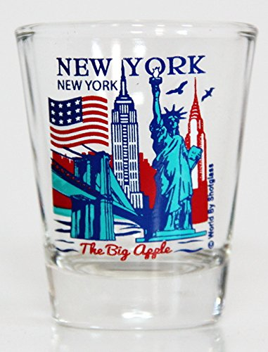 New York Great American Cities Collection Shot Glass -