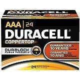 24 Pack 'AAA' Duracell - ASIN (B01LZQXOTO)