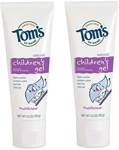 Toothpaste: Tom's of Maine Children's Gel
