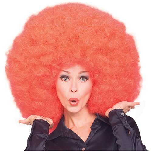 Super Afro Wig Costume
