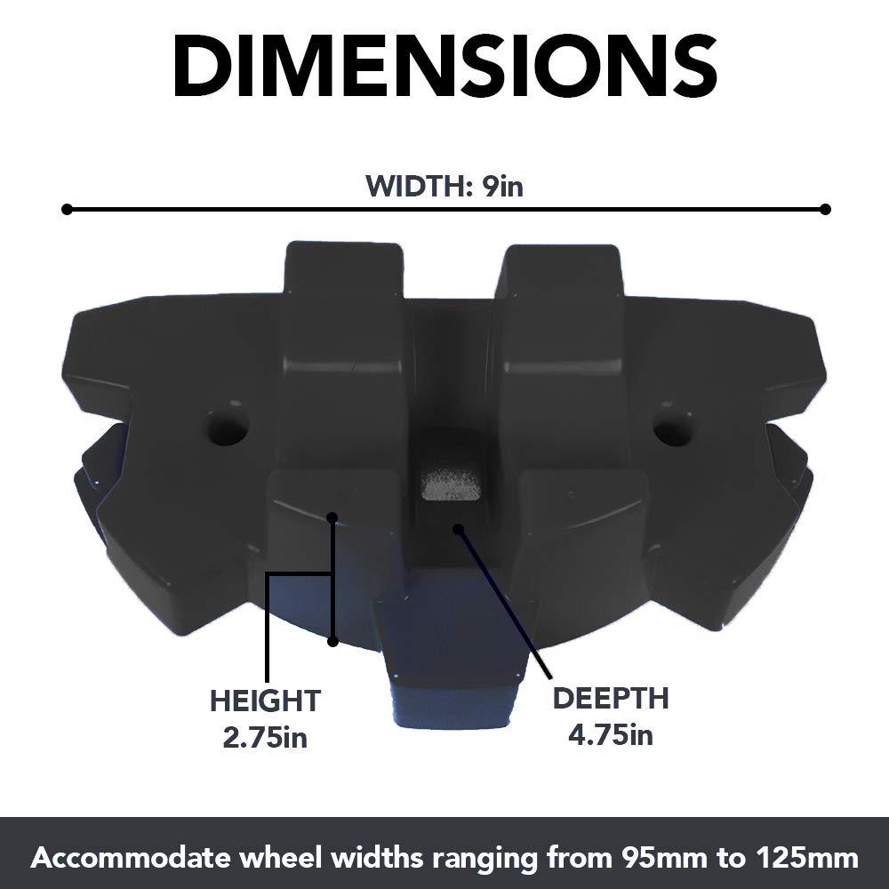 Amazon.com: 50 soportes fuertes para patinete, se adapta a ...