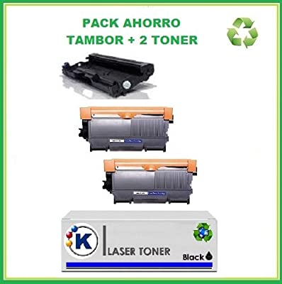 2 Tóner Brother + Tambor DR 2220: Amazon.es: Electrónica