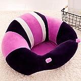 Lecent@ Infant Safe Sitting Chair Comfortable Nursing Pillow Protectors for 3-10 Months (Purple)