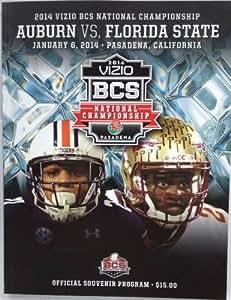 FLORIDA STATE SEMINOLES OFFICIAL 2014 BCS GAME PROGRAM