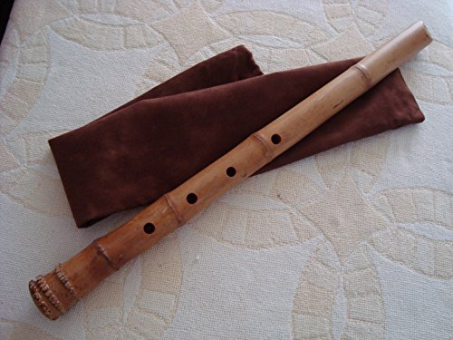 1.8 Shakuhachi with Root End & Kinko Style Mouthpiece Pentatonic Zen instrument