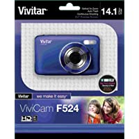 Vivitar 14.1MP Digital Camera with 2.7-Inch TFT - Blue (VF524-BLU-TA)
