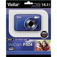 Vivitar 14.1MP Digital Camera with 2.7-Inch TFT - Blue (VF524-BLU-TA)
