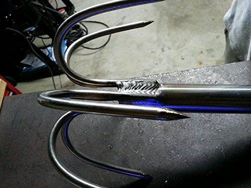 (ReelKingin 6 Prong Pier and Bridge Gaff Fishing (Stainless-Steel))