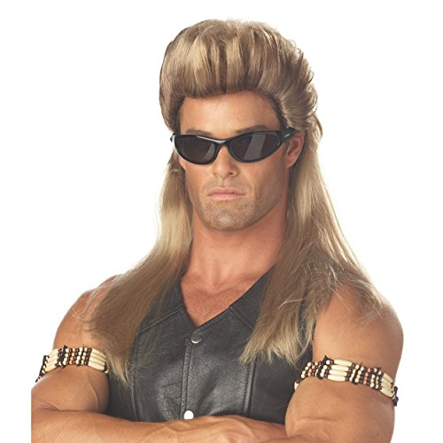 Beth The Bounty Hunter Costumes - Bounty Hunter Mullet Wig Dog The Bail Enforcer TV Show 80s Mullet