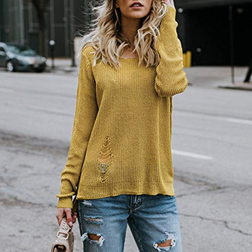 Damen Pullover Sweatshirt Ronamick große größen Langarm