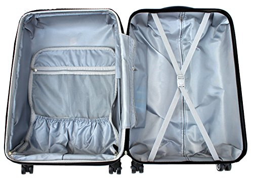 REISEKOFFER REISEKOFFERSET TROLLEY KOFFER 4 SET XL L M KOFFERSET REISEKOFFER BEAUTY CASE Coffee TSA Schloss