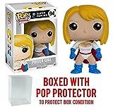 power girl dc - Funko Pop! DC Heroes: Power Girl #94 Vinyl Figure (Bundled with Pop BOX PROTECTOR CASE)