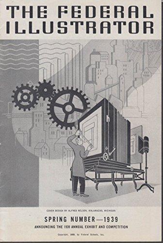 The FEDERAL Schools ILLUSTRATOR Spring 1939 World's Fair mural designs ()