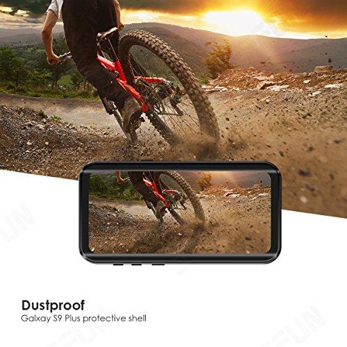 Samsung Galaxy S9 Plus Waterproof Case, Effun IP68 Certified Waterproof  Underwater Cover Dustproof Snowproof Shockproof Case for Galaxy S9 Plus  with