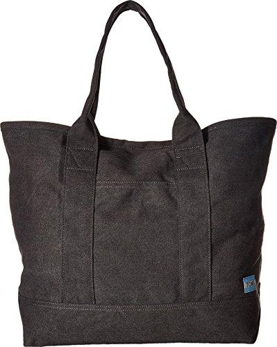 TOMS Women's Canvas Tote Slate Handbag (Dual Use Handbag)