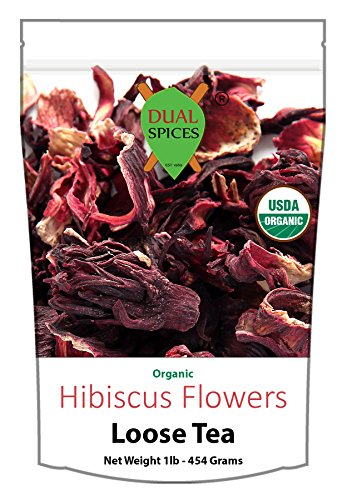 Dual Spices Organic Hibiscus Flower Tea