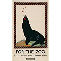 London Underground - For The Zoo 1925 - LU048 Satin Paper A3 Size