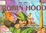 Walt Disney Presents - Robin Hood & Illustrated Book and Long Playing Record