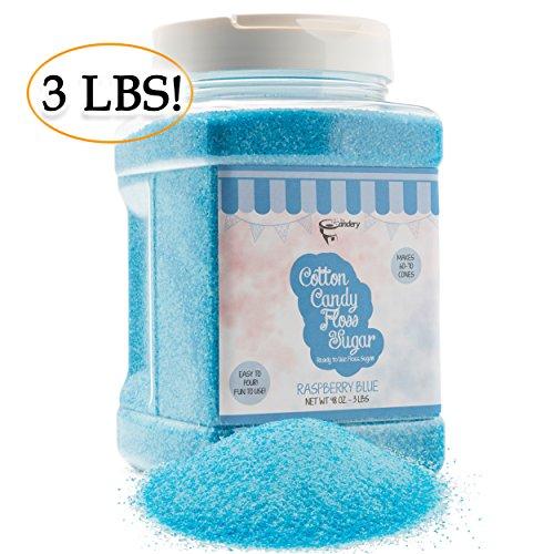 cotton candy sugar blue - 1