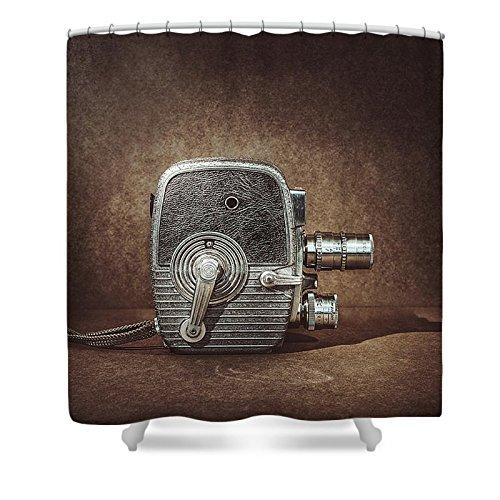 Pixels Shower Curtain (74'' x 71'') ''Keystone Capri K28''
