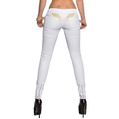 8193c5134c3c9 Koucla Leather-Look Ladies Pants Sexy Women s Skinny Hot Trousers ...