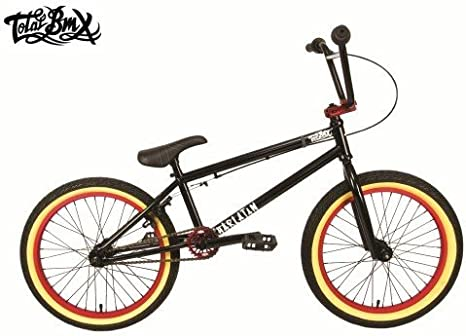 Total BMX TOT201303-Black/Red - Bicicleta BMX freestyle (20.5 ...