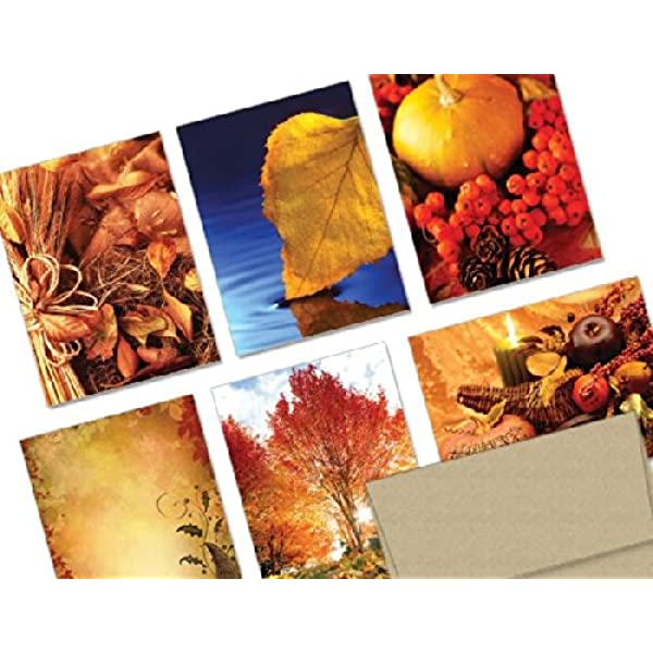 Autumn Greeting Cards Fall Note Card Set Embossed Leaf Cards White Embossed Fall Cards Fall Cards Set of 5 Give Thanks Fall Card Set