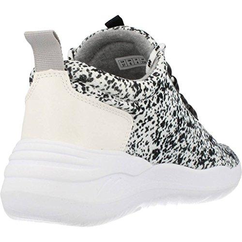 COOLWAY Calzado Deportivo Para Mujer, Color Blanco, Marca, Modelo Calzado Deportivo Para Mujer Drake Blanco Blanco