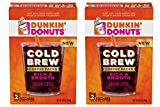 : Dunkin' Donuts Cold Brew Coffee Packs 2 Boxes