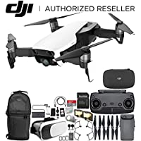 DJI Mavic Air Drone Quadcopter (Arctic White) EVERYTHING YOU NEED Starters Bundle