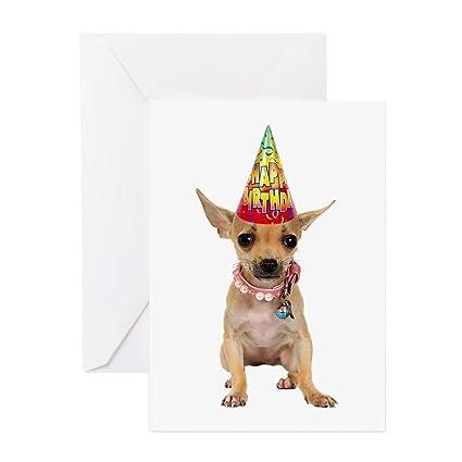 Amazon Cafepress Chihuahua Birthday Greeting Card Note