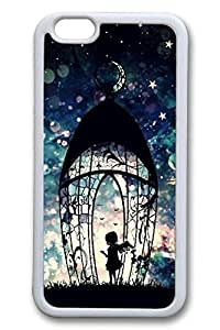 Blue Red Bow Slim Hard Cover For Iphone 6 Plus 5.5 Inch Cover Case PC 3D Cases