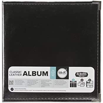 We R Memory Keepers Faux Leather 3-Ring Binder, 8.5 by 11-Inch, Platinum