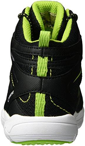 lime black lime Kamik Furyhigtx noir Baskets Enfant Hautes Mixte Schwarz SSBHwq60