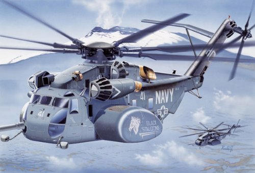 Sea Dragon Helicopter (ITALERI - 1/72 MH53E Sea Dragon Mine-Sweeping Helicopter (Plastic Models))