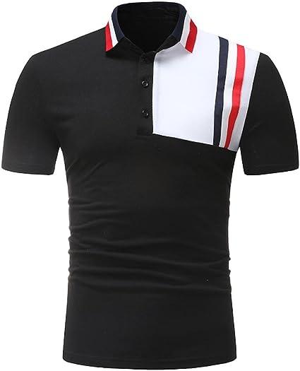 Camiseta de Deporte al Aire Libre para Hombre Que empalma Talla ...