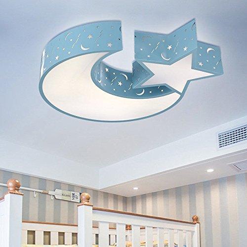 MEIHOME Lámpara de techo Habitación niños chica estrellas ...