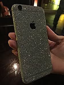 Shark? Luxury Bling Glittering Full Body Protective Skin Sticker For Apple Iphone 6(5.5-Inch)-Silver