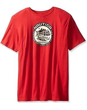 Men's Big-Tall Sail Graphic T-Shirt