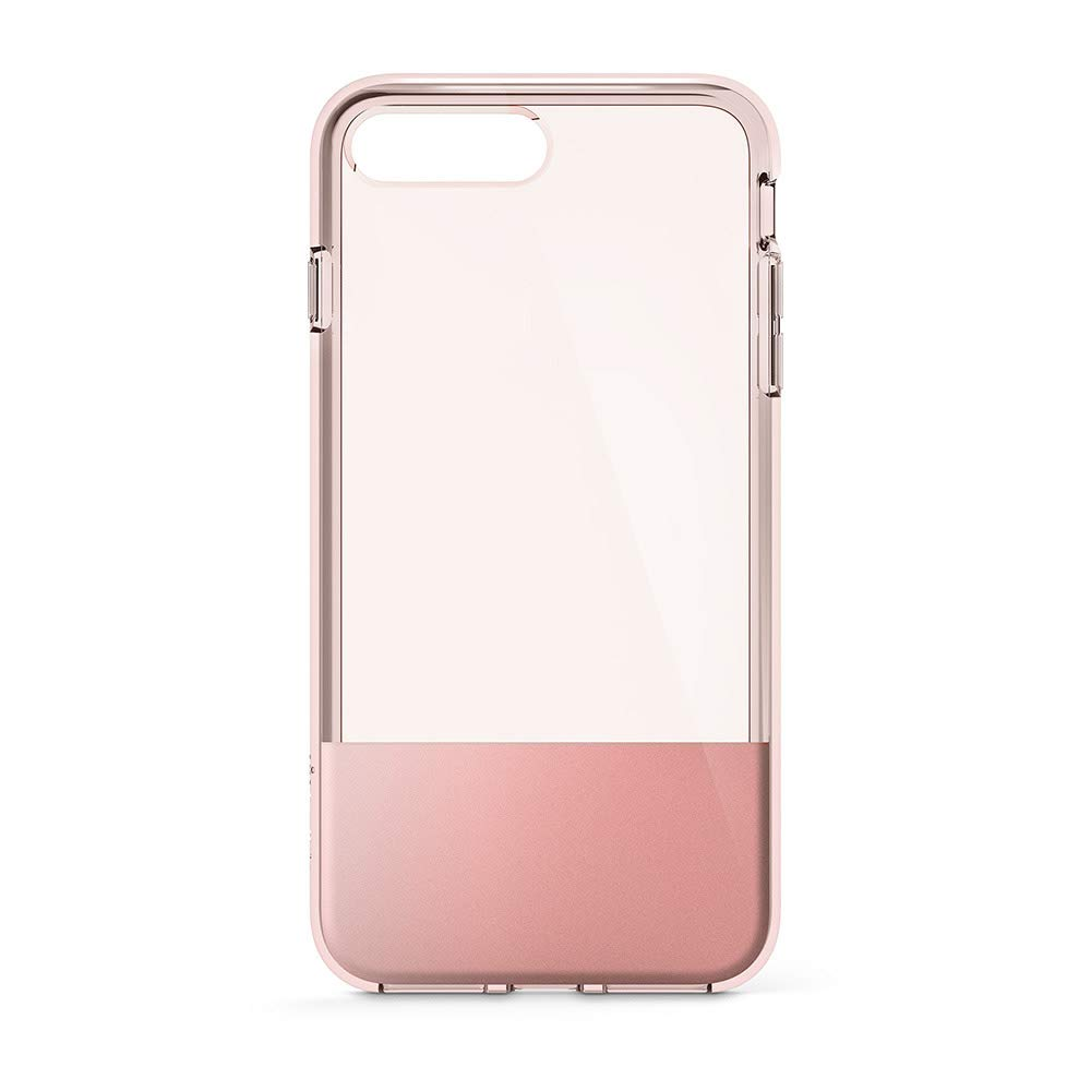 0f86e887ae Amazon.com: Belkin SheerForce Protective Case for iPhone 8 Plus and iPhone  7 Plus (Rose Gold): Cell Phones & Accessories