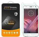 [2-Pack] Supershieldz for Motorola (Moto Z2 Play) Tempered Glass Screen Protector, Anti-Scratch, Anti-Fingerprint, Lifetime Replacement