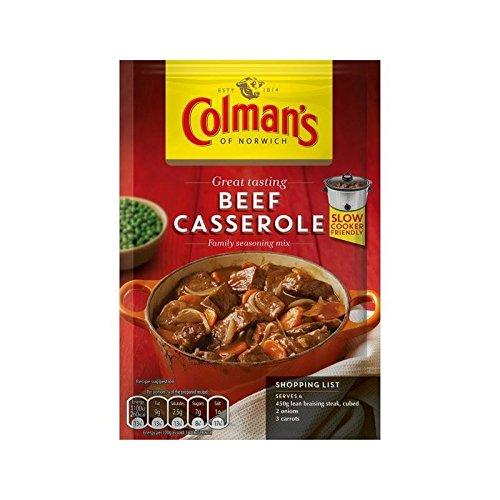 Colmans Casserole Mixes - Colman's Beef Casserole Recipe Mix 40g - Pack of 4