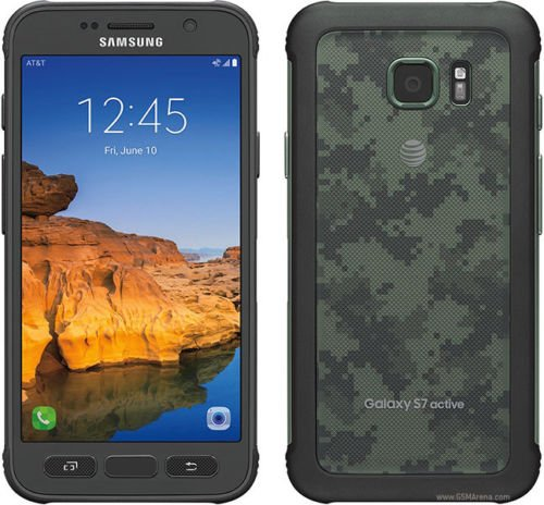 Samsung Galaxy S7 active SM-G891A 32GB AT&T Locked - Camo Green (Certified ()